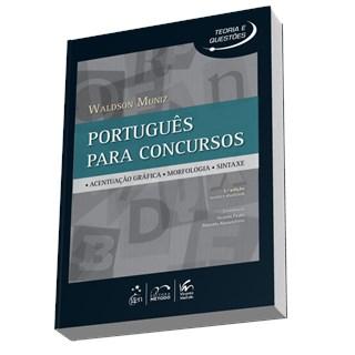 Livro - Português para Concursos: Acentuação Gráfica, Morfologia, Sintaxe  - Muniz