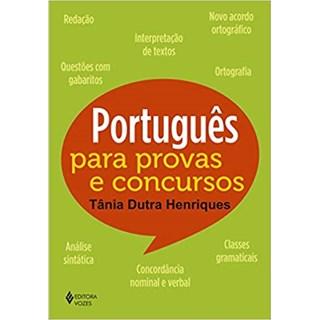 Livro - Português Para Provas e Concursos - Henriques - Vozes