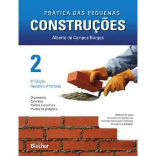 Livro - Prática das Pequenas Construções - Vol.2 - Borges