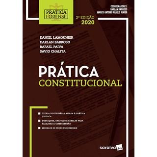 Livro Prática Forense Constitucional - Barroso - Saraiva