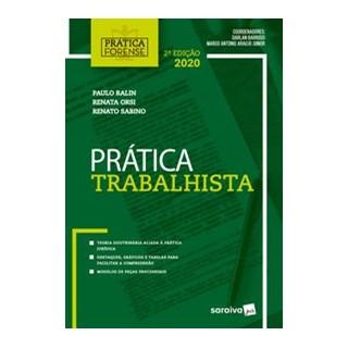 Livro - Prática Forense Trabalhista - Barroso 2º edição