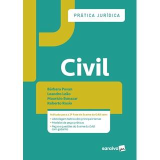 Livro Prática Jurídica Civil - Pavan - Saraiva