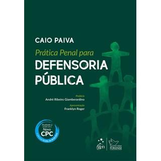 Livro - Prática Penal para Defensoria Pública - Paiva