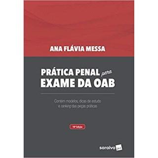 Livro - Pratica Penal Para Exame Da Oab - Saraiva