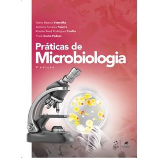 Livro - Práticas de Microbiologia - Vermelho