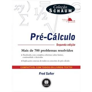 Livro - Pré - Cálculo - Colecao Schaum - Safier