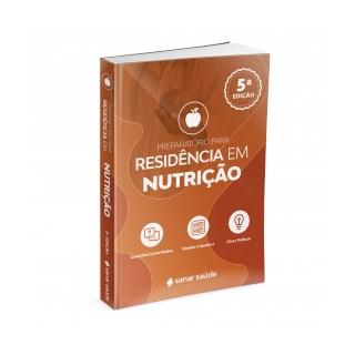 Livro Preparatório para Residência em Nutrição 2021  - Sanar