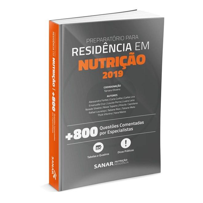 Livro Preparatório Para Residência em Nutrição - Sanar