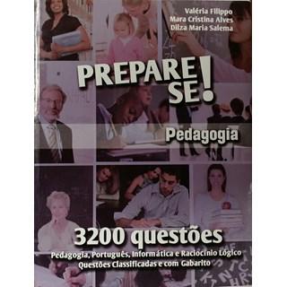 Livro - Prepare-se ! Pedagogia - 3200 Questões