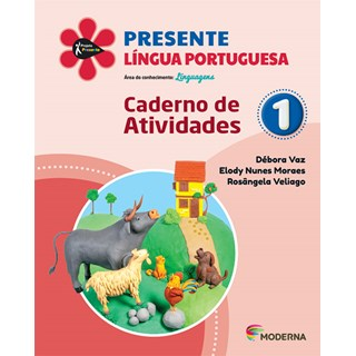Livro - Presente Língua Portuguesa - 1 Ano - Caderno de Atividades - Moderna
