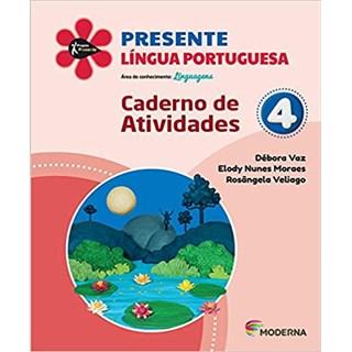 Livro - Presente Língua Portuguesa - 4 Ano - Caderno de Atividades - Moderna