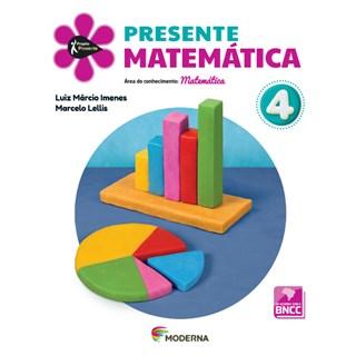 Livro - Presente Matemática - 4 Ano - Moderna