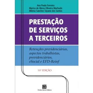 Livro - Prestação de Serviços a Terceiros - Ferreira