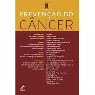 Livro - Prevenção do Cancêr - AntunesBF