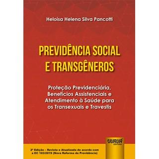 Livro - Previdência Social e Transgêneros - Pancotti - Juruá