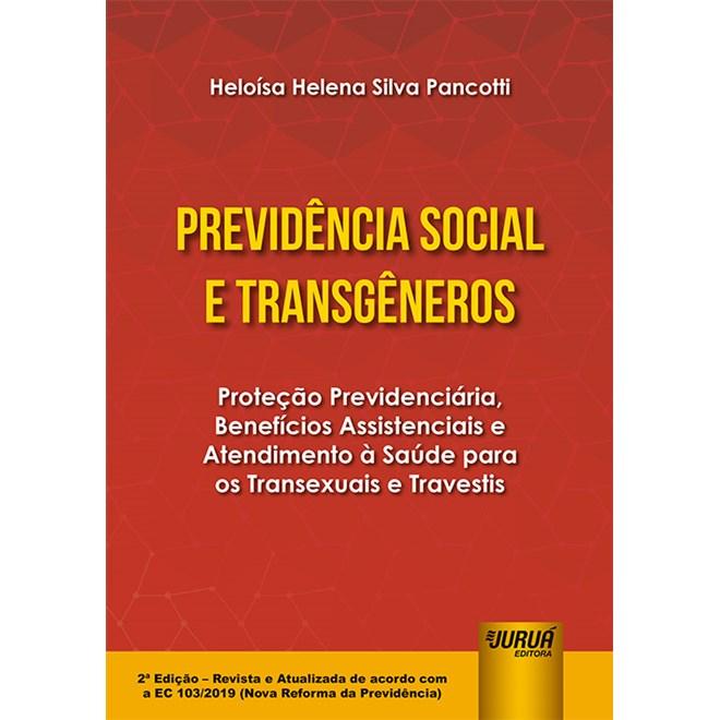 Livro Previdência Social e Transgêneros - Pancotti - Juruá