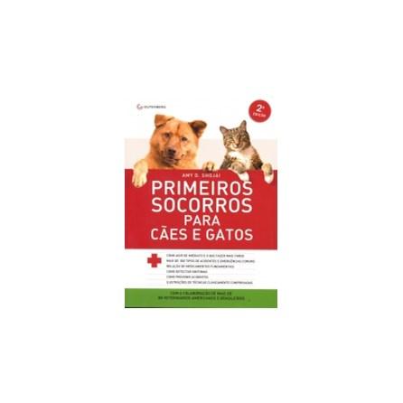 Livro - Primeiros Socorros para Cães e Gatos - Shojai