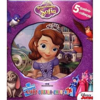 Livro - Princesinha Sofia - Meu Primeiro Livro Quebra Cabeca - Disney