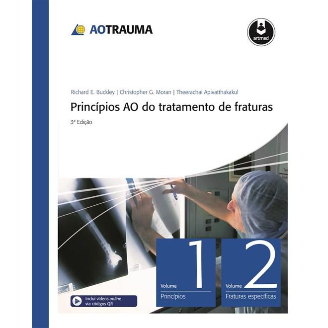 Livro - Princípios AO do Tratamento de Fraturas 2 Vols - Inclui DVD-ROM em inglês - Rüedi