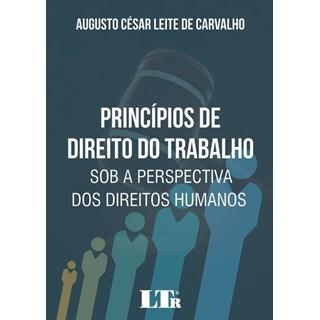 Livro - Principios De Direito Do Trabalho - Sob A Perspectiva Dos Direitos Humanos - Carvalho