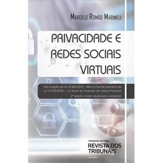 Livro - Privacidade e Redes Sociais Virtuais - Marinelli