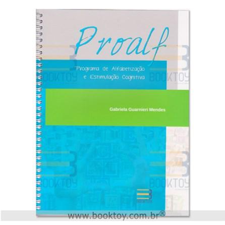 Livro - Proalf Programa de Alfabetização e Estimulação Cognitiva - Mendes 1ª edição