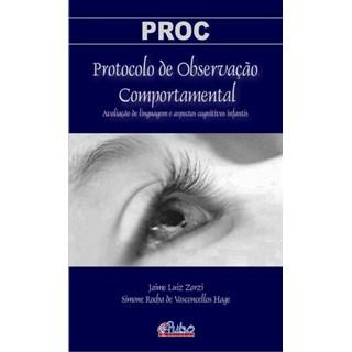 Livro - PROC Protocolo de Observação Comportamental - Zorzi