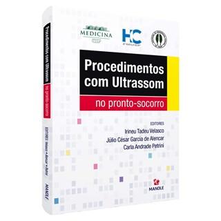 Livro Procedimentos Com Ultrassom - Velasco - Manole