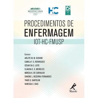 Produto Livro - Procedimentos de enfermagem - HC -Giovani