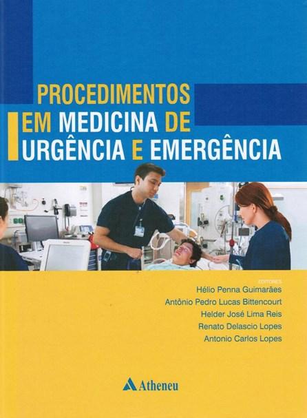 Livro - Procedimentos em Medicina de Urgência e Emergência - Guimarães