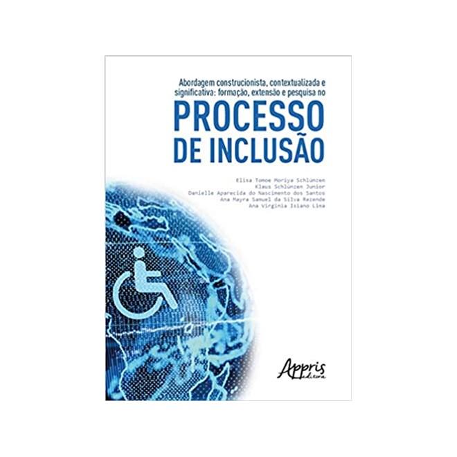 Livro -  Processo De Inclusão - Rezende - Appris