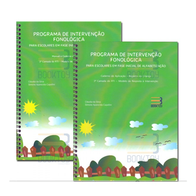 Livro - Programa de Intervenção Fonológica Para Escolares - Silva
