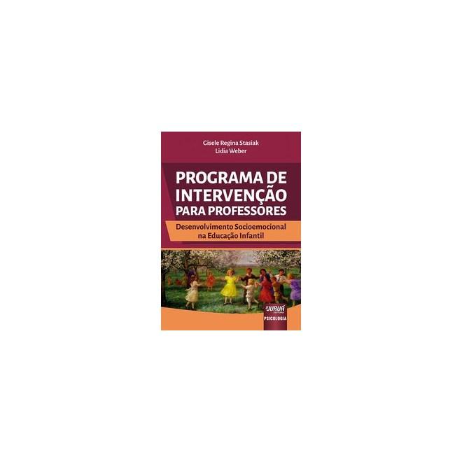 Livro - Programa de Intervenção para Professores - Stasiak 1º edição