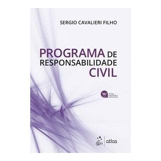 Livro - Programa de Responsabilidade Civil - CAVALIERI FILHO 14º edição