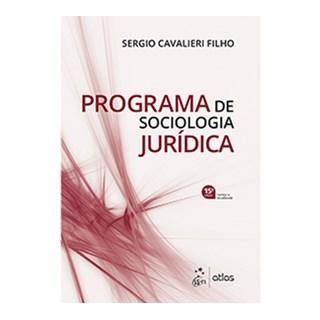Livro - Programa de Sociologia Jurídica - Cavalieri Filho