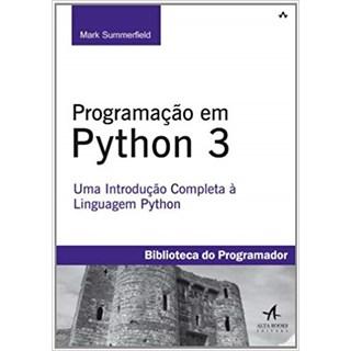 Livro - Programação em Python 3 - Summerfield