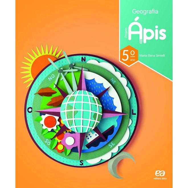 Livro - Projeto Ápis Geografia - 5 Ano - Ática