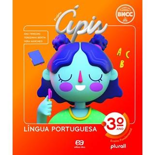 Livro - Projeto Ápis Língua Portuguesa - 3 Ano - Ática