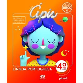 Livro - Projeto Ápis Língua Portuguesa - 4 Ano - Ática
