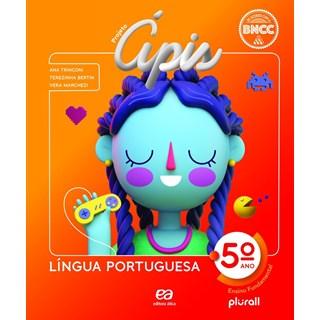 Livro - Projeto Ápis Língua Portuguesa - 5 Ano - Ática