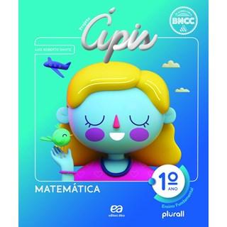 Livro - Projeto Ápis Matemática - 1 Ano - Ática