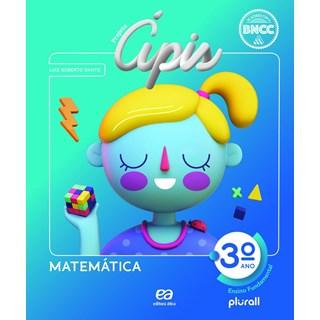 Livro - Projeto Ápis Matemática - 3 Ano - Ática