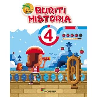 Livro - Projeto Buriti História - 4 Ano - Moderna