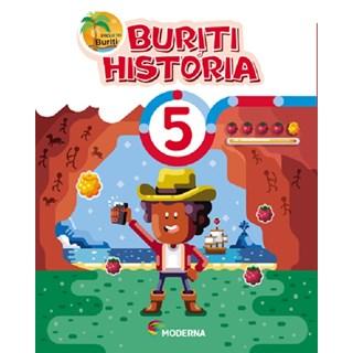 Livro - Projeto Buriti História - 5 Ano - Moderna