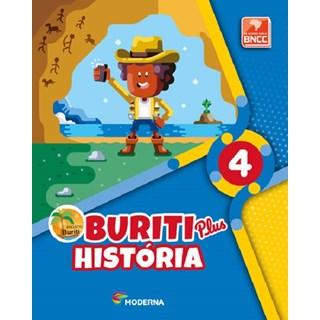 Livro - Projeto Buriti Plus História - 4 Ano - Moderna
