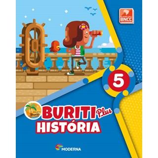 Livro - Projeto Buriti Plus História - 5 Ano - Moderna