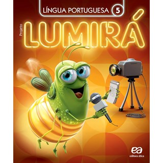 Livro - Projeto Lumirá Língua Portuguesa (Kit com 2 Livros) - 5 Ano - Ática