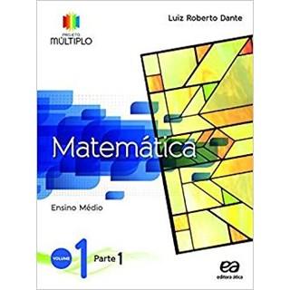 Livro - Projeto Múltiplo Matemática - 1 Ano EM (Kit com 3 vol) - Ática