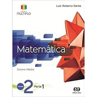 Livro - Projeto Múltiplo Matemática - 2 Ano EM (Kit com 3 vol) - Ática
