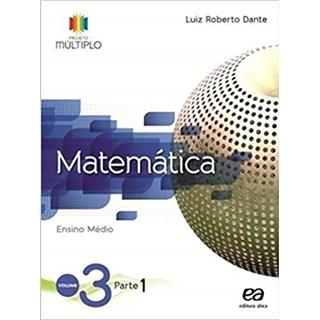 Livro - Projeto Múltiplo Matemática - 3 Ano EM (Kit com 6 vol) - Ática